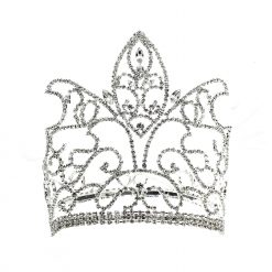 Rhinestone Queen Crown Product Image