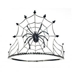 Black Spider Queen Crown Product Image